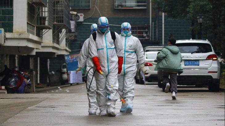 Эпидемия коронавируса. Фото AFP