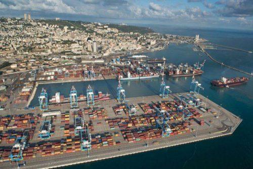 Морской порт в Хайфе. Фото: Венциан Верхафтиг/Хайфский порт