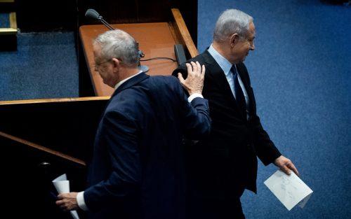 Ликуд и Кахоль-Лаван