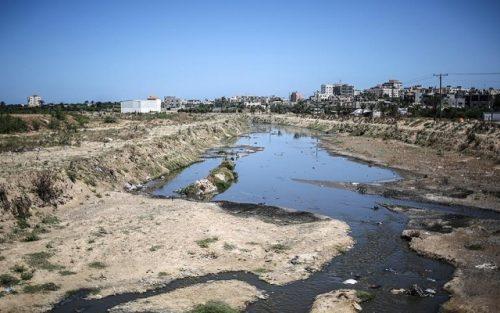 сточные воды из Газы