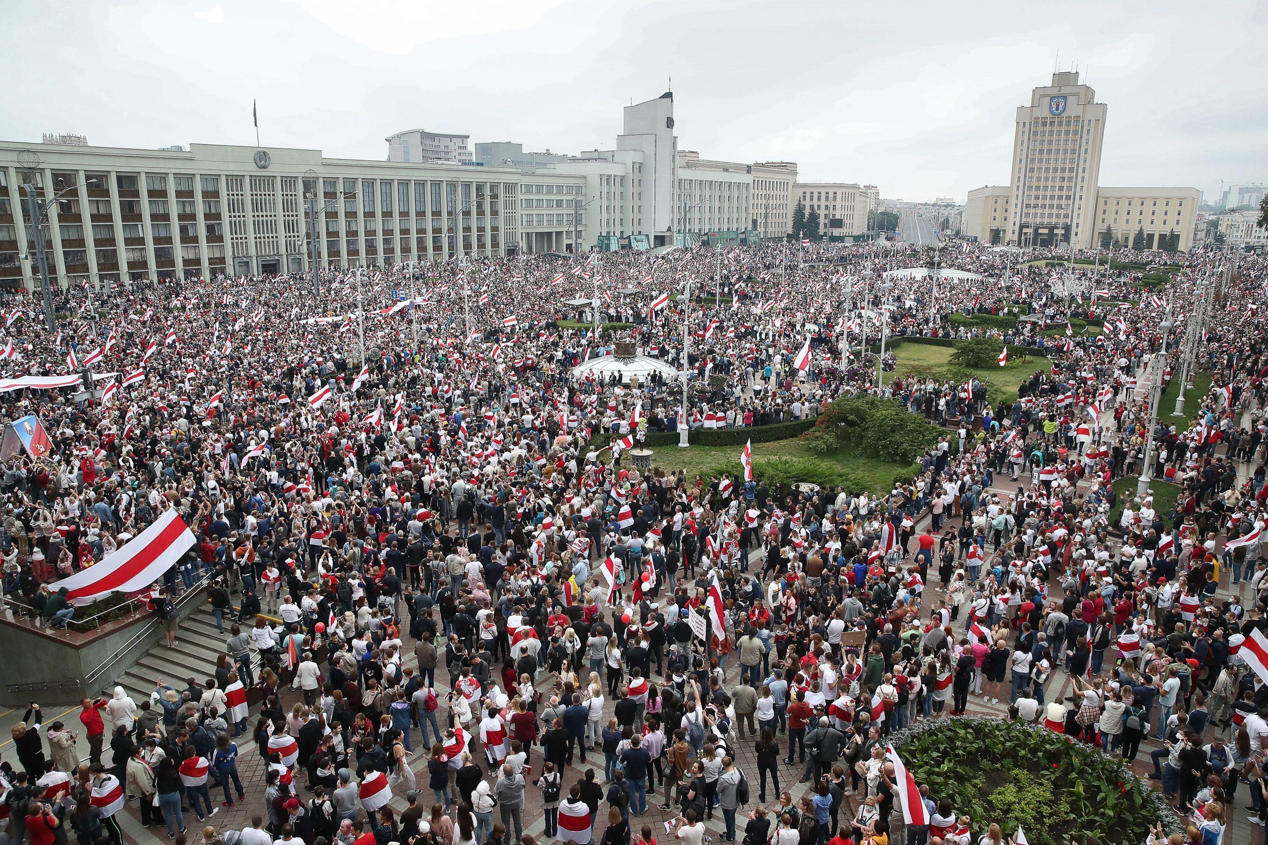 что происходит в Минске