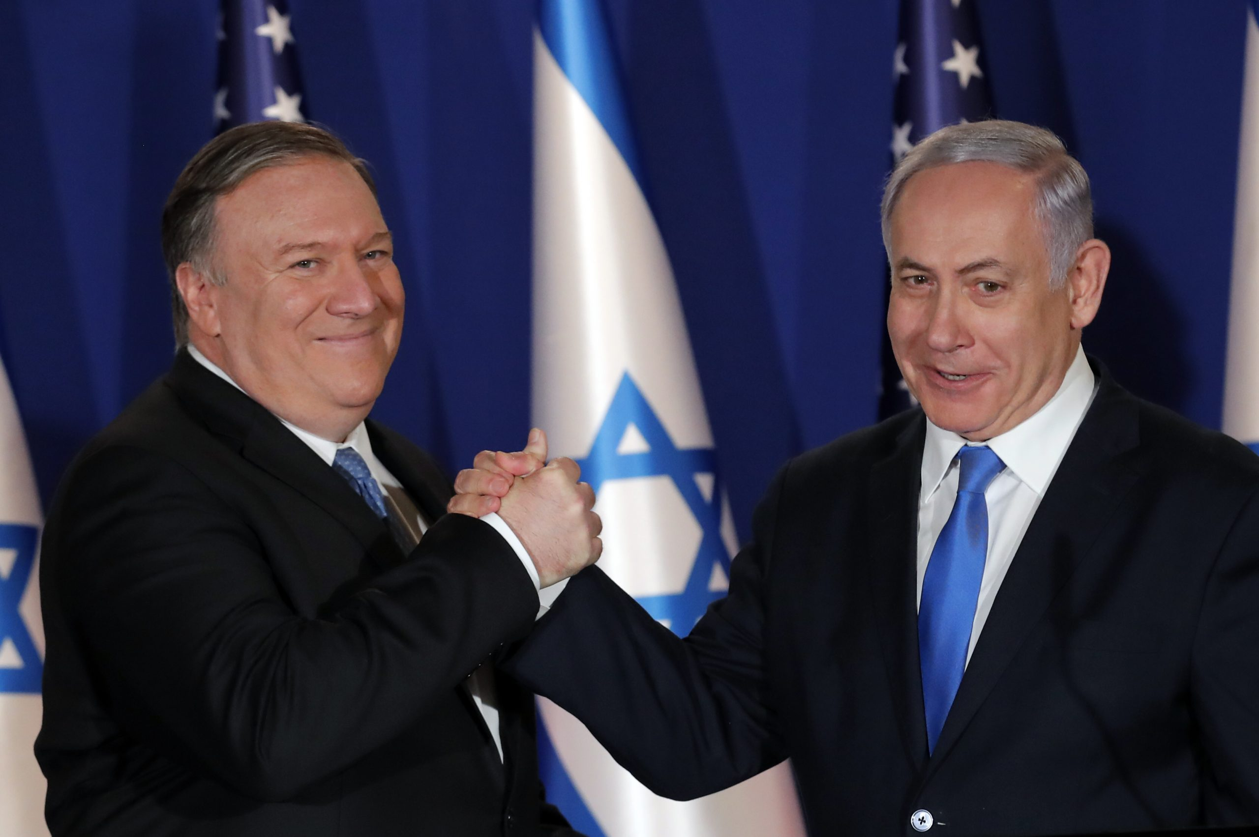 Встреча Помпео с Нетаньягу