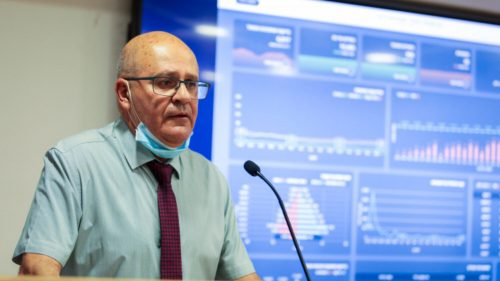 Health Ministry General Manager Professor Hezi Levy