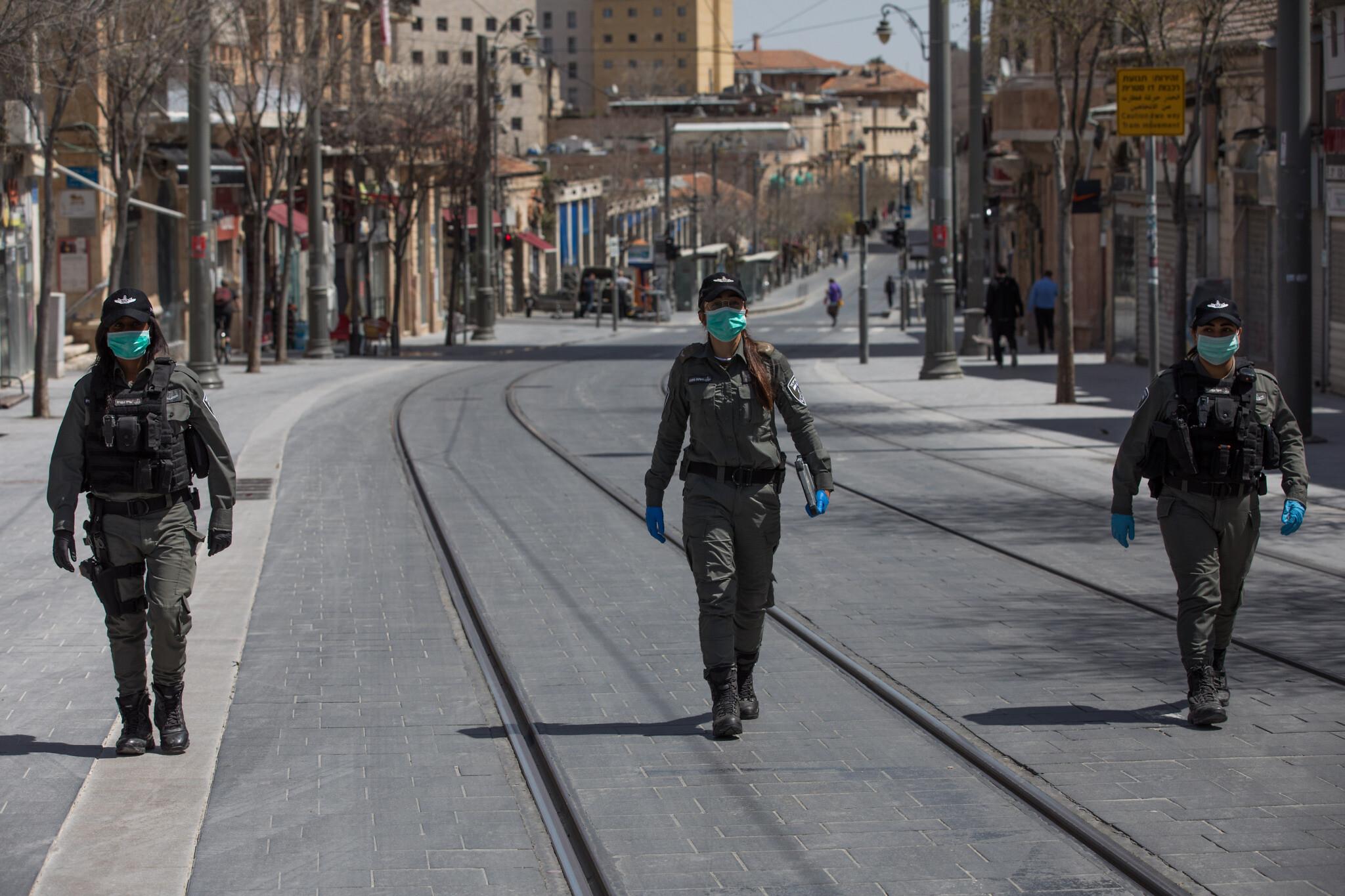 тотальный карантин в Израиле