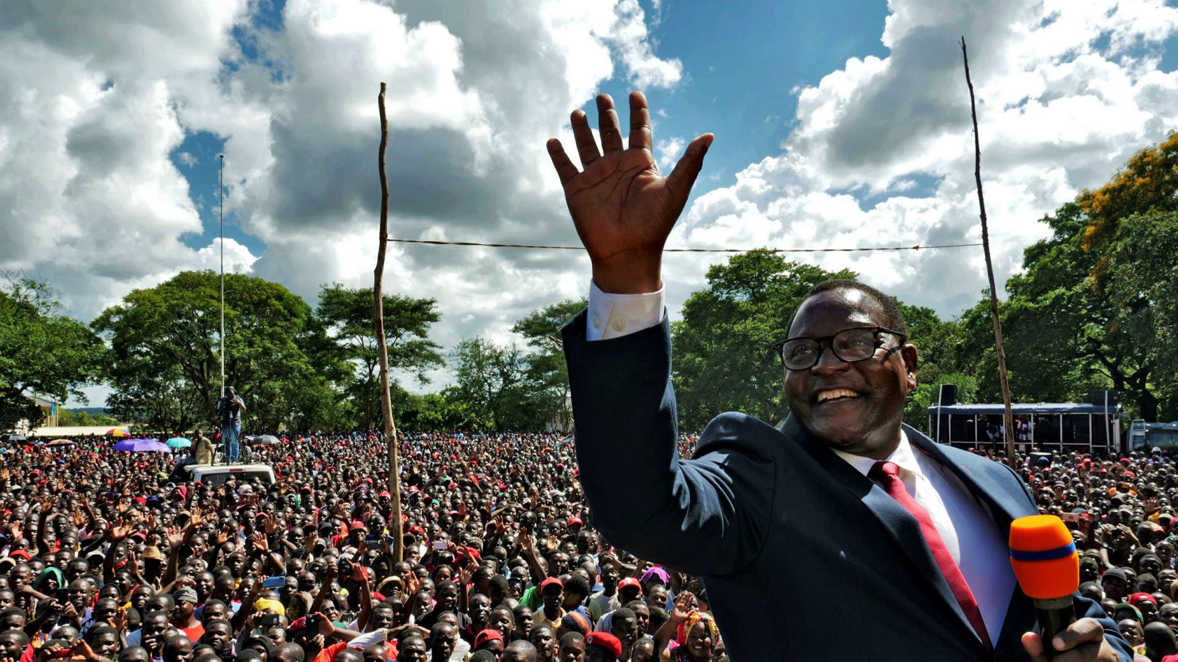 президент Малави Лазарус Чаквера