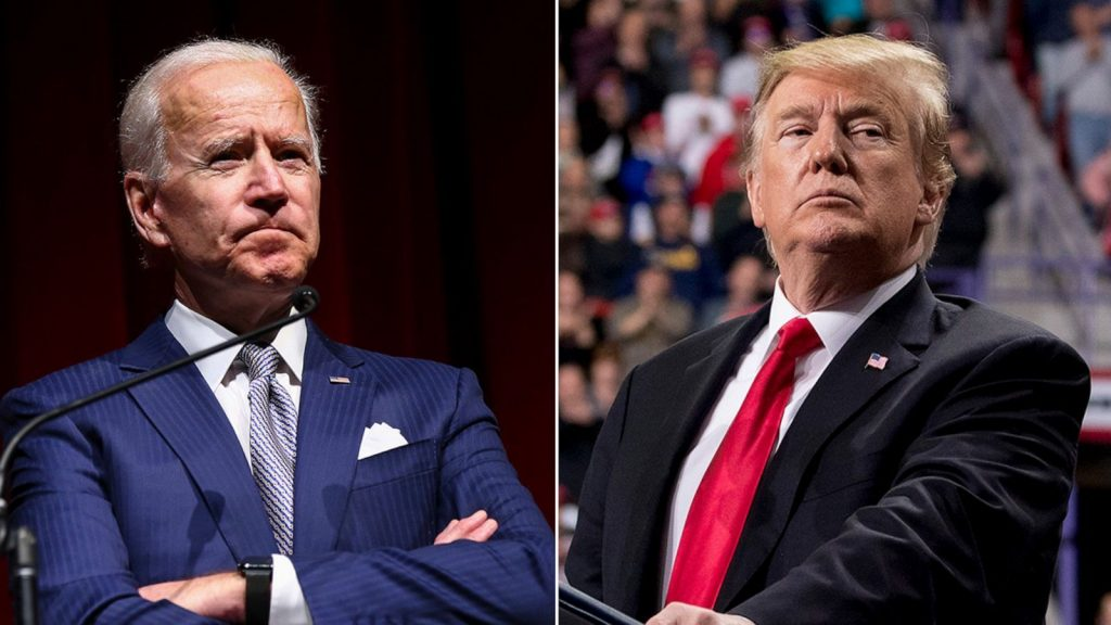 Трамп и Байден - кто победит