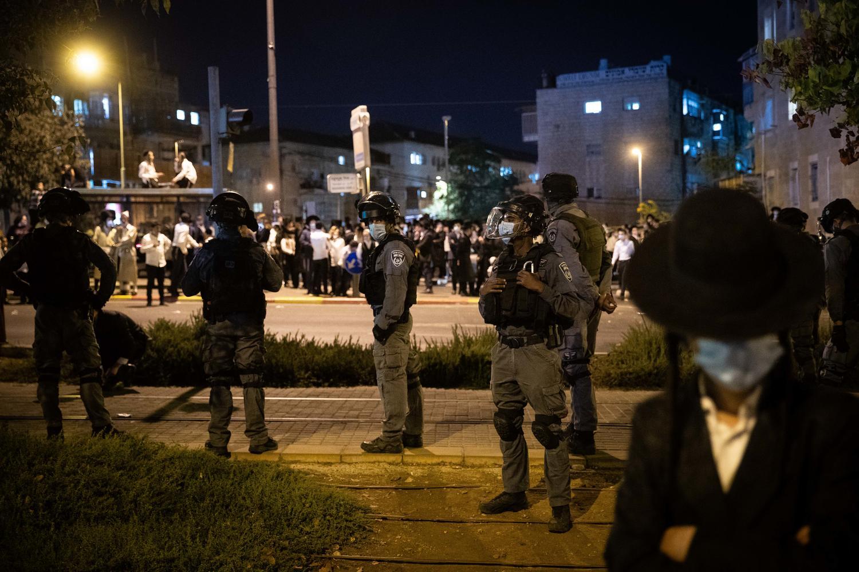 ультраортодоксы и полиция