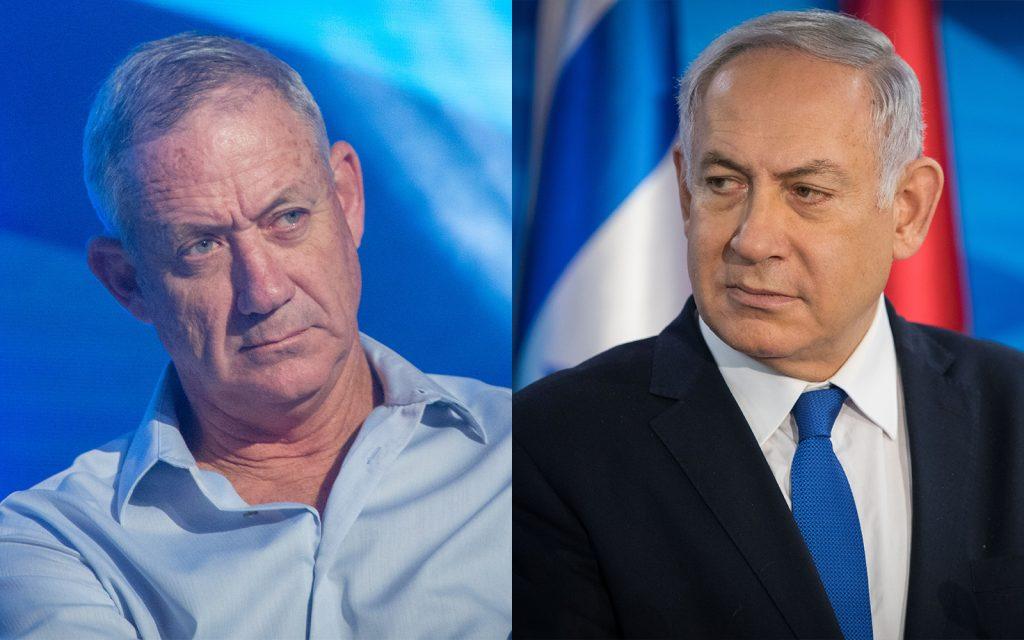 Ганц обвинил Нетаньягу
