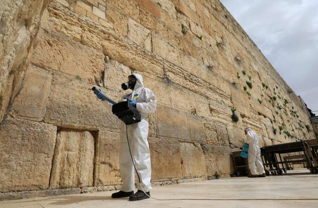 коронавирус в Иерусалиме