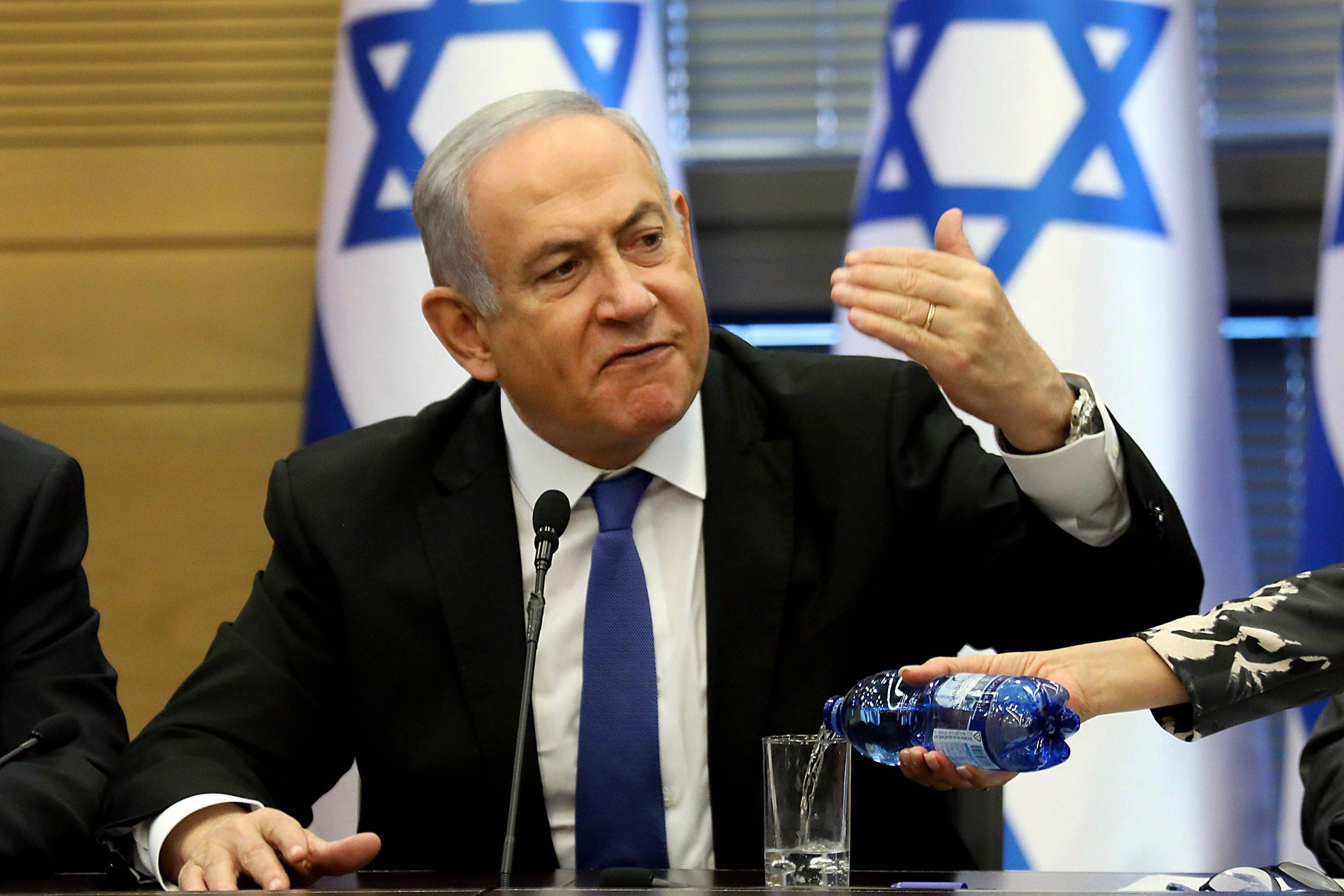 Нетаньягу и Ганц