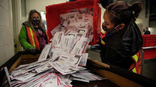 подсчет голосов по почте