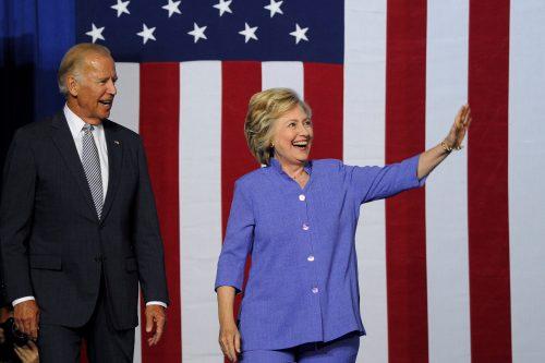 Байден и Клинтон