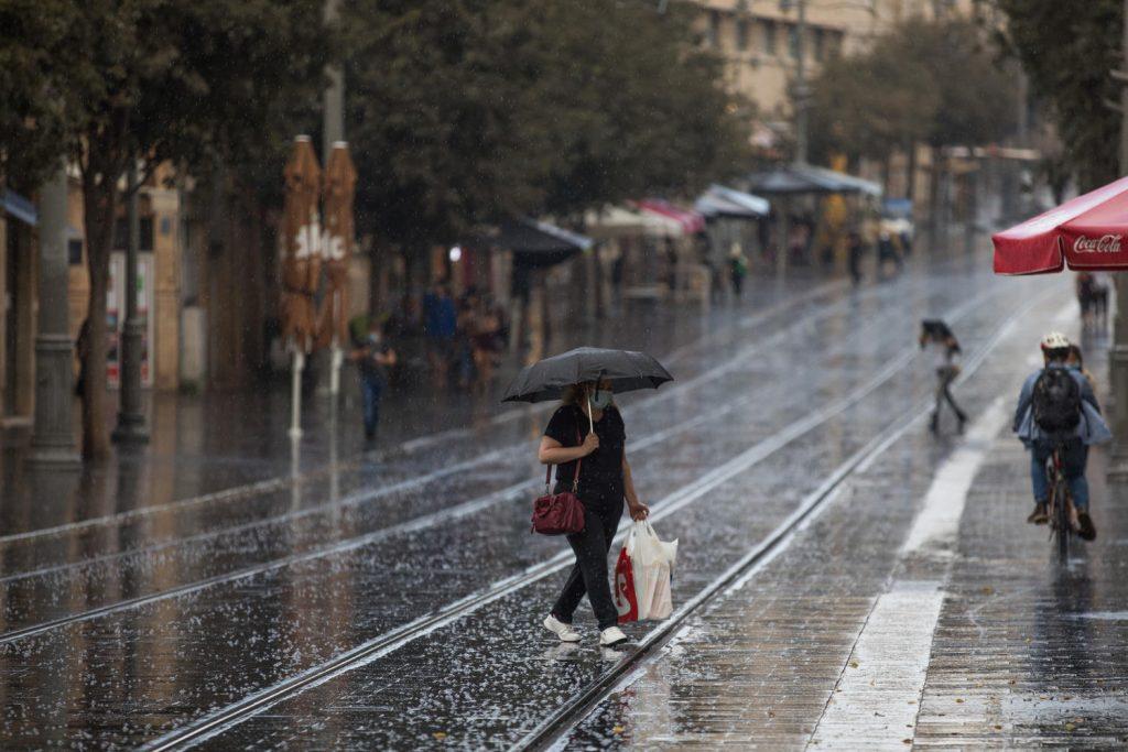 ливень в Израиле