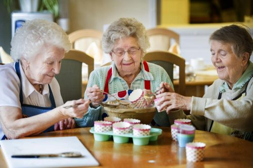 пенсионерки в Израиле