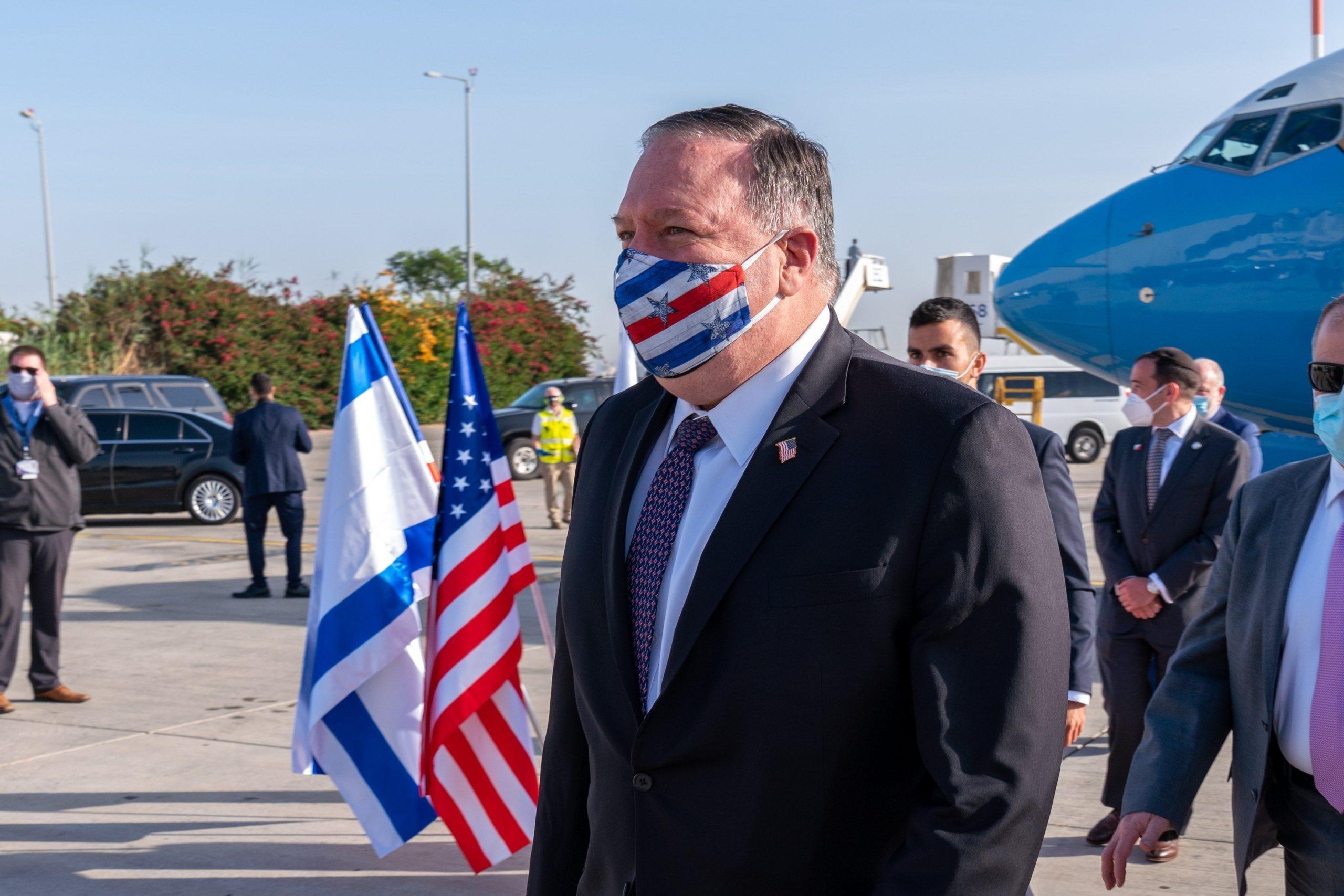помпео в израиле
