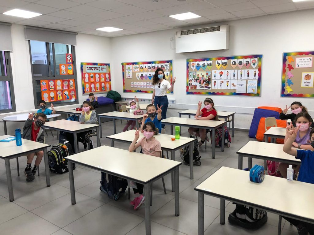 выход из карантина в школах Израиля