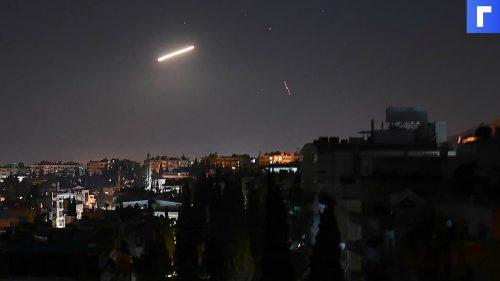 Сирия заявила об атаке израильской армии