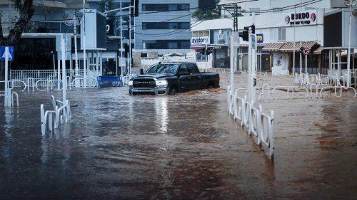 дожди в Израиле