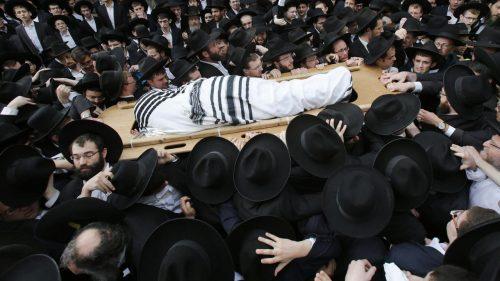 похороны раввина