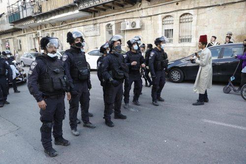 нарушения карантина на Пурим в Израиле