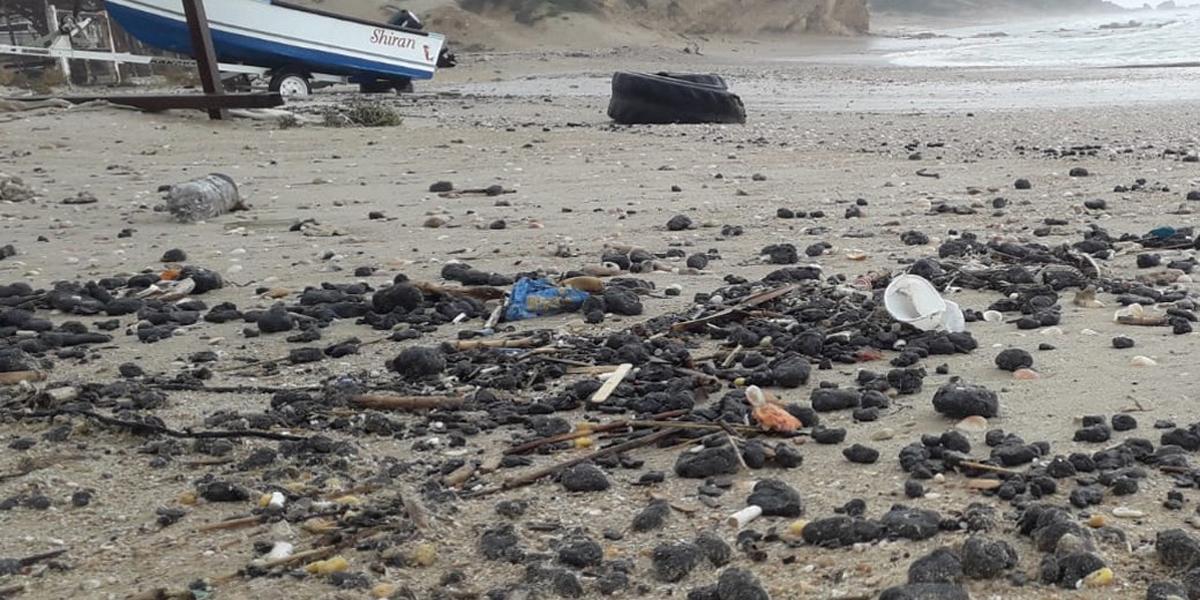 Экологическая катастрофа на средиземноморском побережье