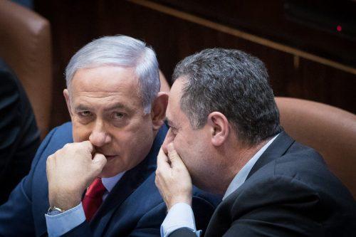 Исраэль Кац и Нетаньягу
