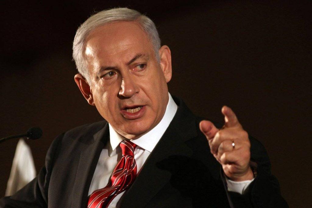 Нетаньягу на выборах в Кнессет