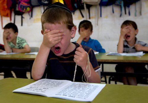 занятия в школах Израиля