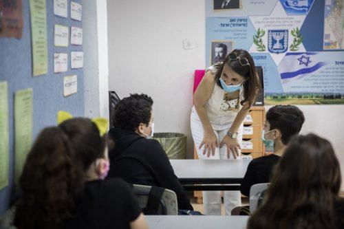 Вакцинация учителей в Израиле