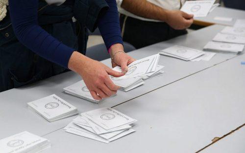 подсчет голосов на выборах в Израиле