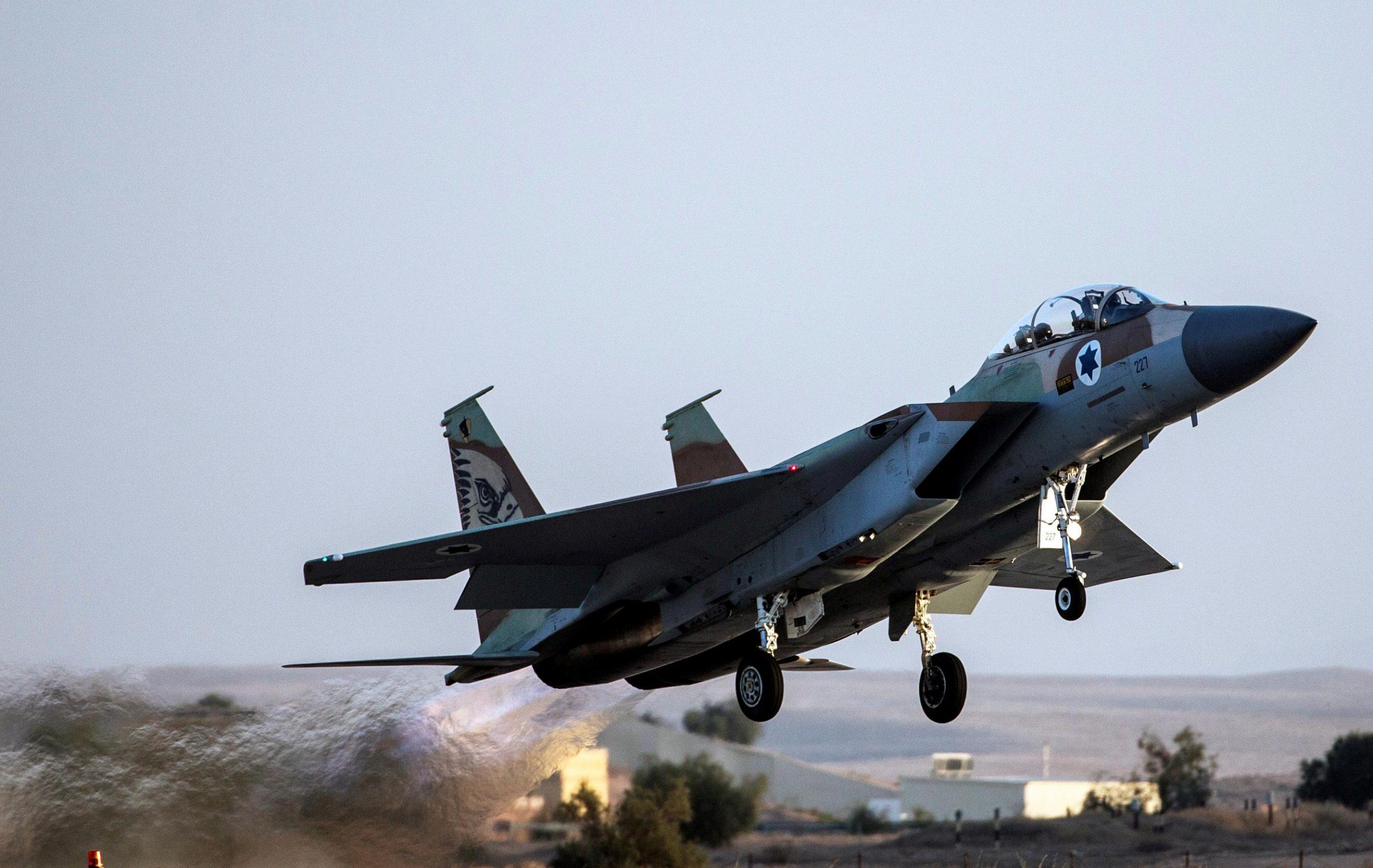Авиаудар по Газа