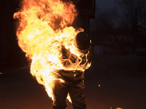 самосожжение в Израиле