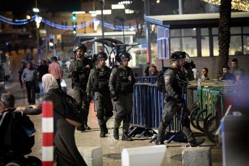 Полиция у Шхемских ворот