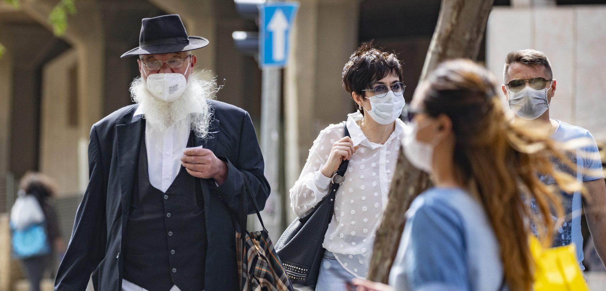 Израиль ношение масок