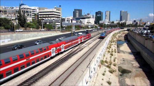 Израиль поезд