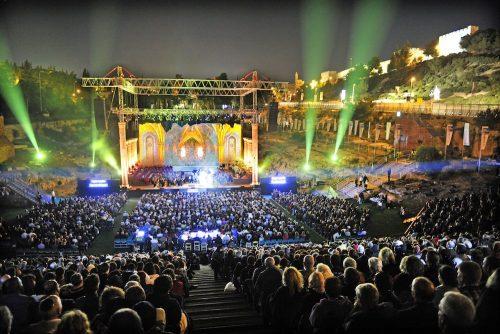 концерты под открытым небом в Израиле