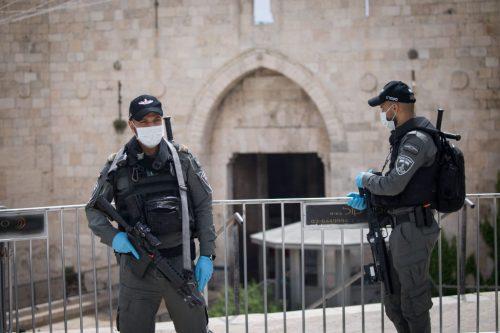 полиция Иерусалим