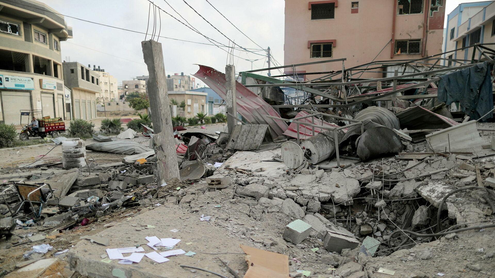 Обстрел из Газы
