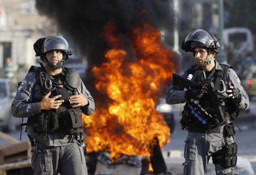 массовые беспорядки в Израиле