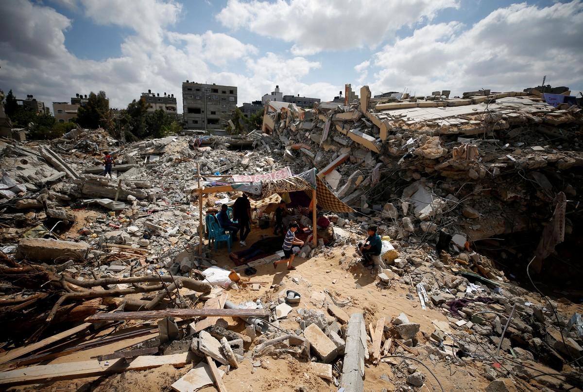 операция Страж стен в Газе