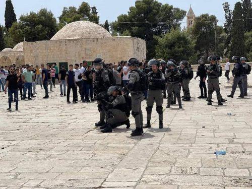 массовые беспорядки на Храмовой горе