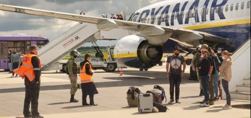 Самолет в Минске