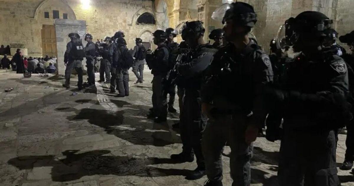 беспорядки на Храмовой горе