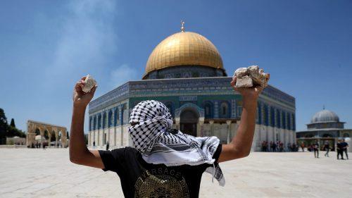 араб на Храмовой горе