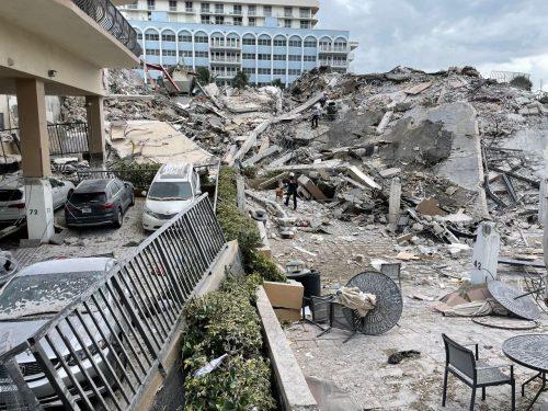 рухнувшее здание во Флориде