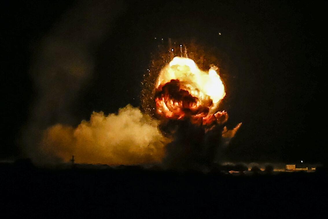 Удар по Газе