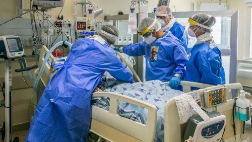 Израиль больница ковид