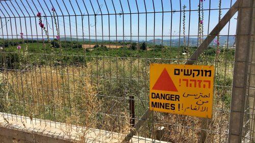 граница Израиля
