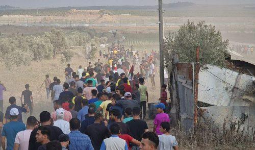 массовые беспорядки на границе