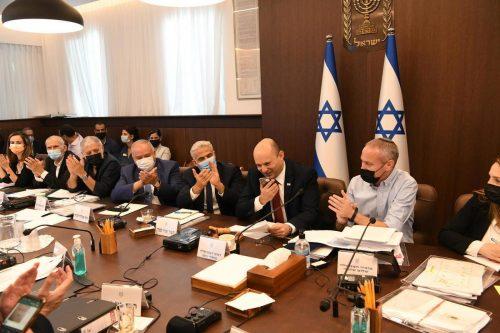 заседание правительства в Израиле